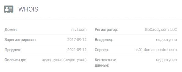 Inivil - домен