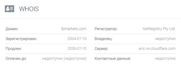 FPMarkets - домен