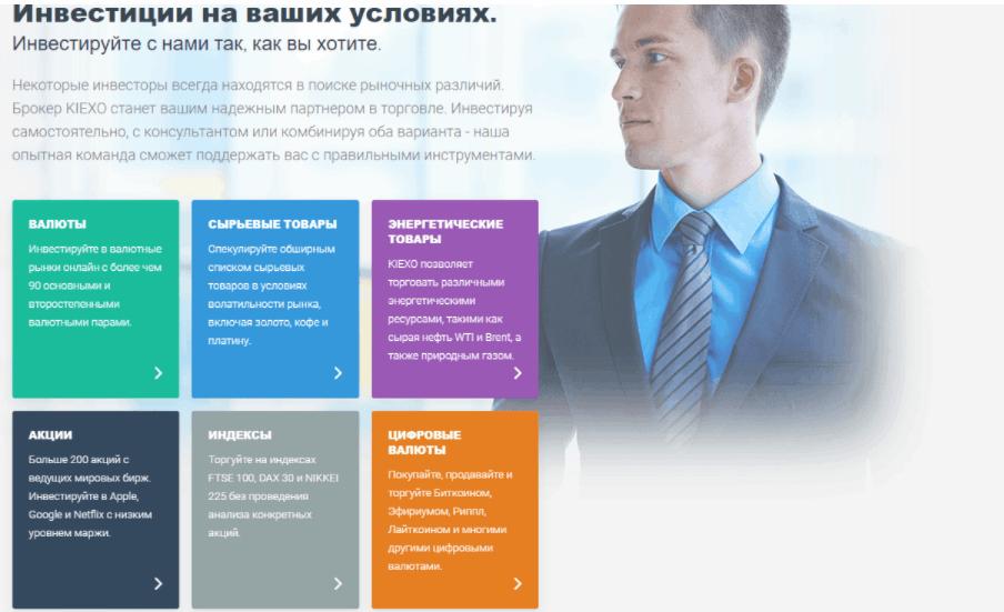 Kiexo - обещания для клиентов