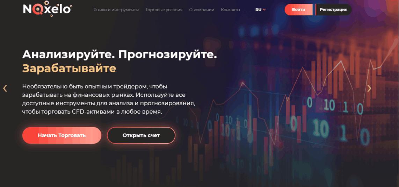 Noxelo главная сайта компании