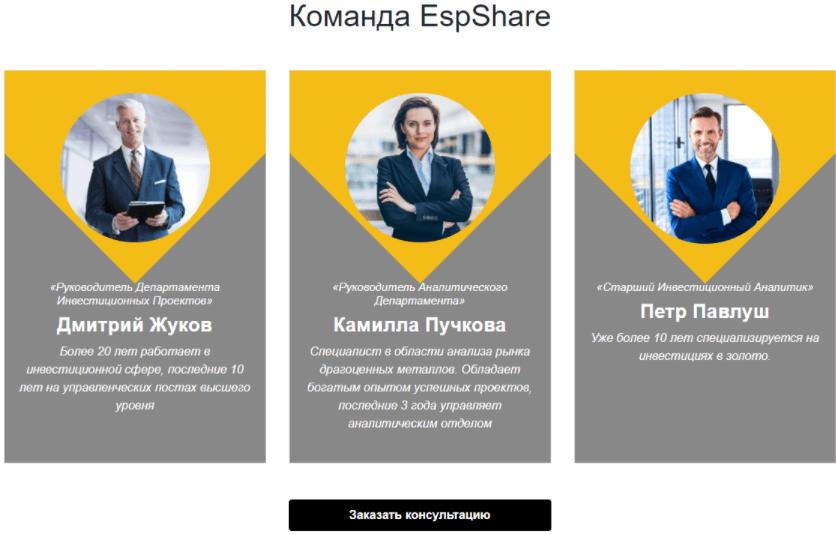 команда EspShare
