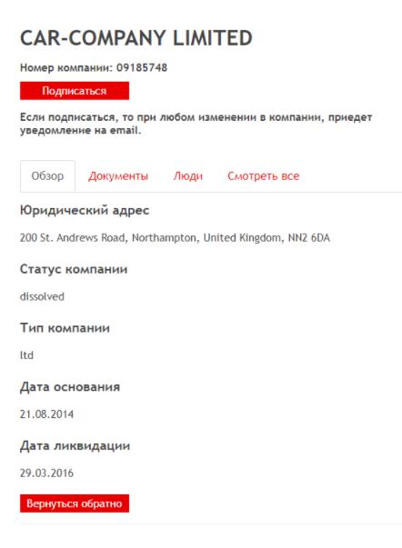 документы Car-Company