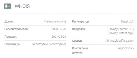 обзор официального сайта Live-Money