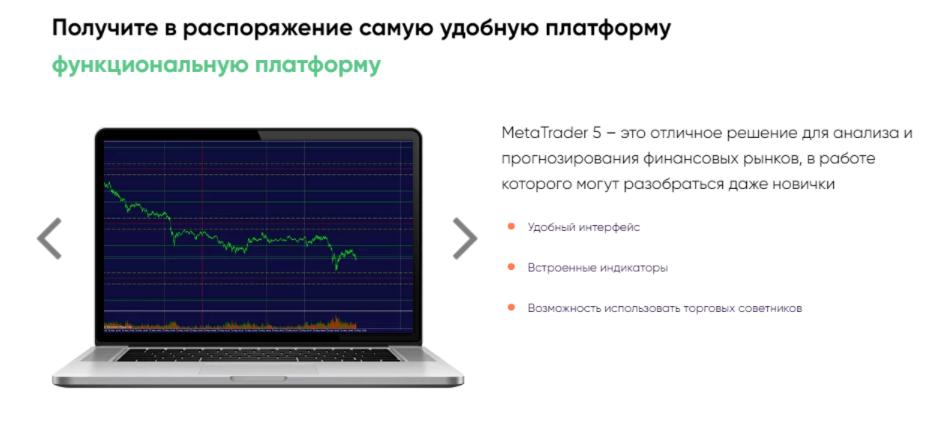 Торговая платформа Webears
