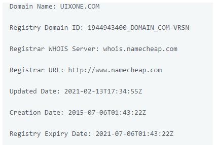 обзор официального сайта Uixone