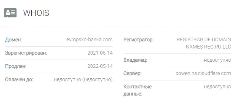 обзор официального сайта Еvropskobanka