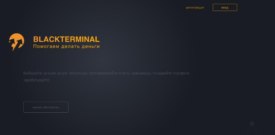 BlackTerminal сайт компании