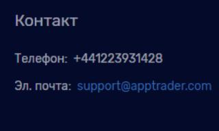 Связь с AppTrader