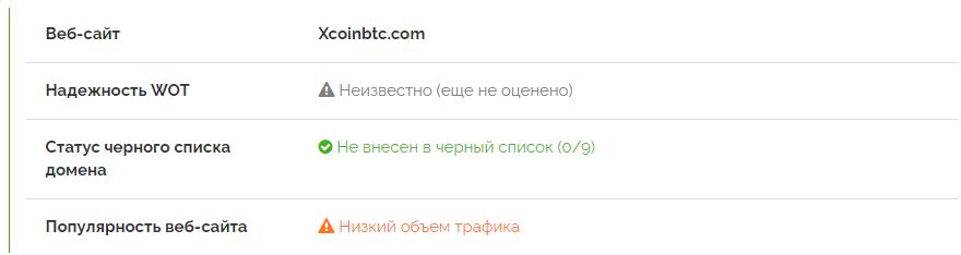 отзывов о XCoinBTC