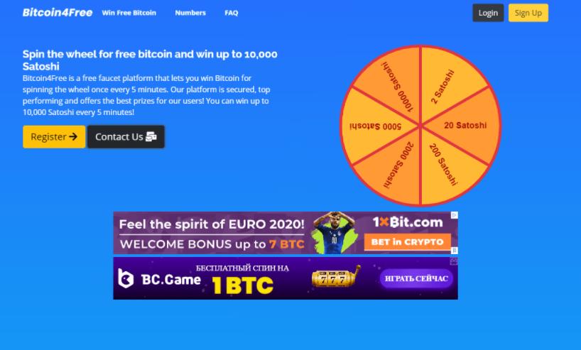 Bitcoin4Free сайт компании