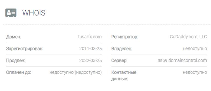 обзора официального сайта Tusar FX