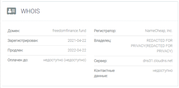 обзор официального сайта Freedom Finance Fund