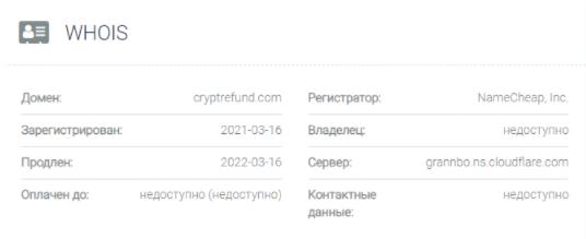 домен Cryptrefund