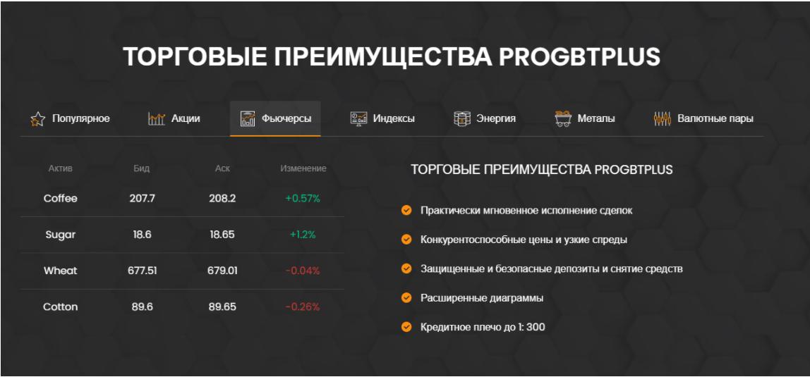 преимущества ProGBTplus