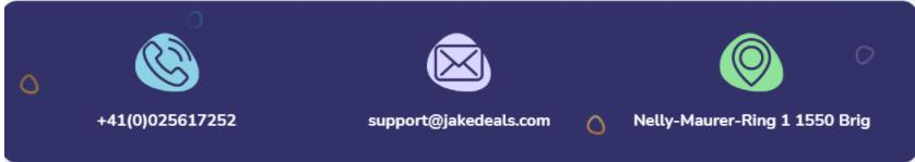 контакты Jakedeals