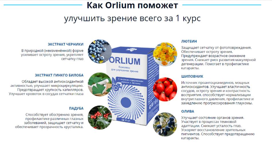 эффективность Orlium