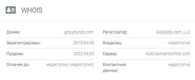 домен GroupFundz