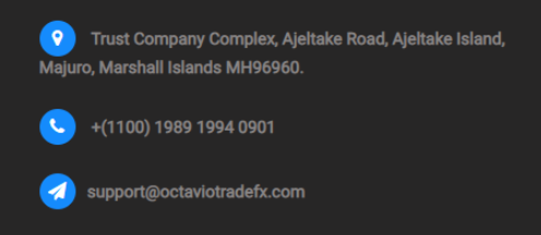 контакты Octaviotradefx