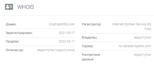 домен Cryptrade365