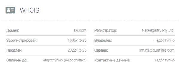axitrader официальный сайт