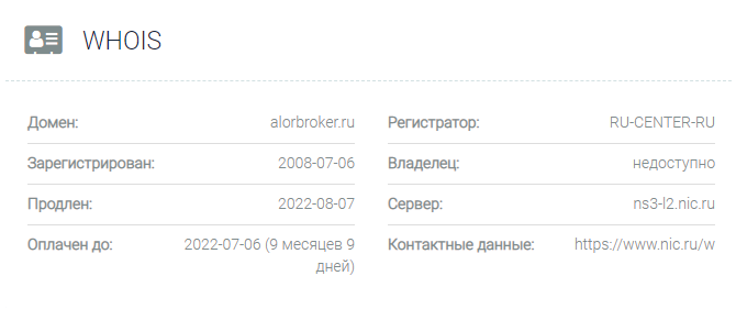 алор брокер официальный сайт